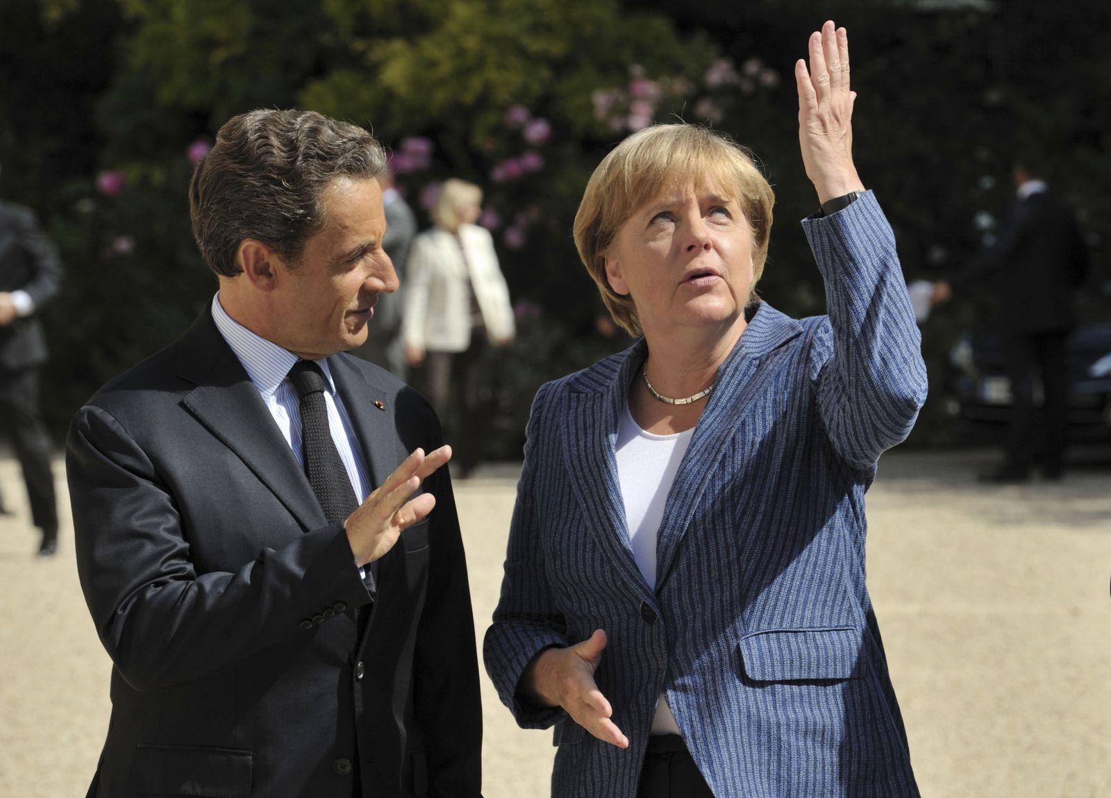 Nicolas Sarkozy / Angela Merkel