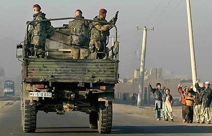 Bundeswehrsoldaten beim Auslandseinsatz (hier in Afghanistan)