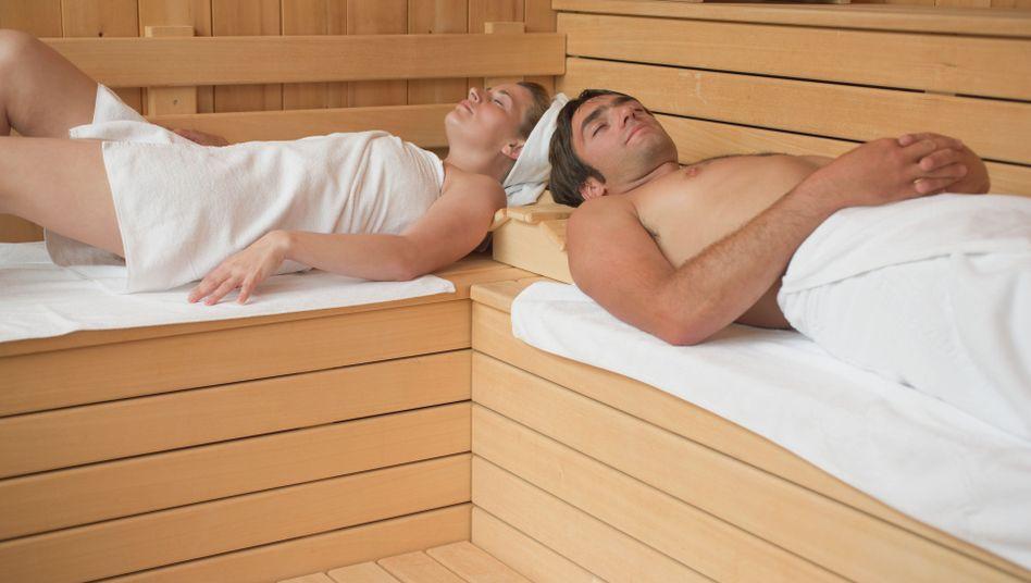 Nach dem Sport entspannen in der Sauna: Gut gegen Muskelkater?