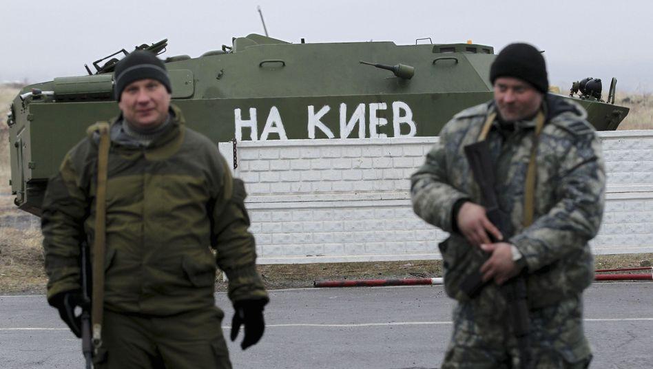 Prorussische Separatisten in der Ukraine: Gespräche ja, aber ohne USA und EU