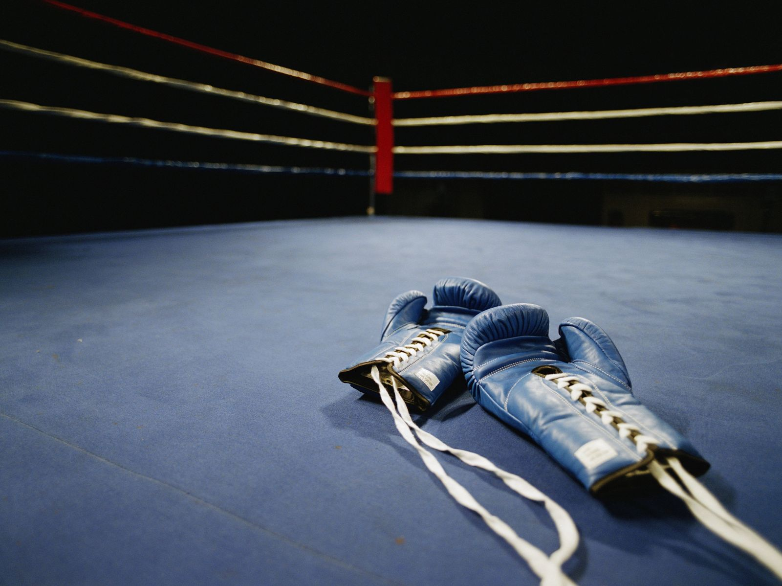 NICHT MEHR VERWENDEN! - Symbolbild Boxen/ Boxende/ Boxhandschuhe/ Boxring