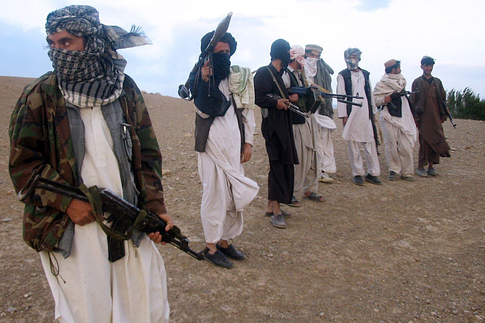 Afghanistan / Taliban-Kämpfer