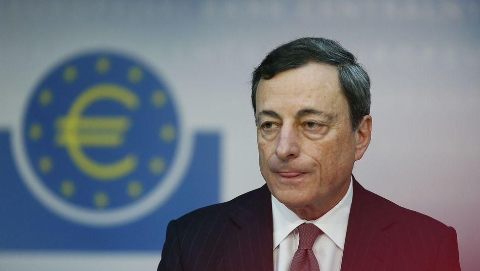 EZB-Präsident Draghi: Will alles tun, um den Euro zu retten