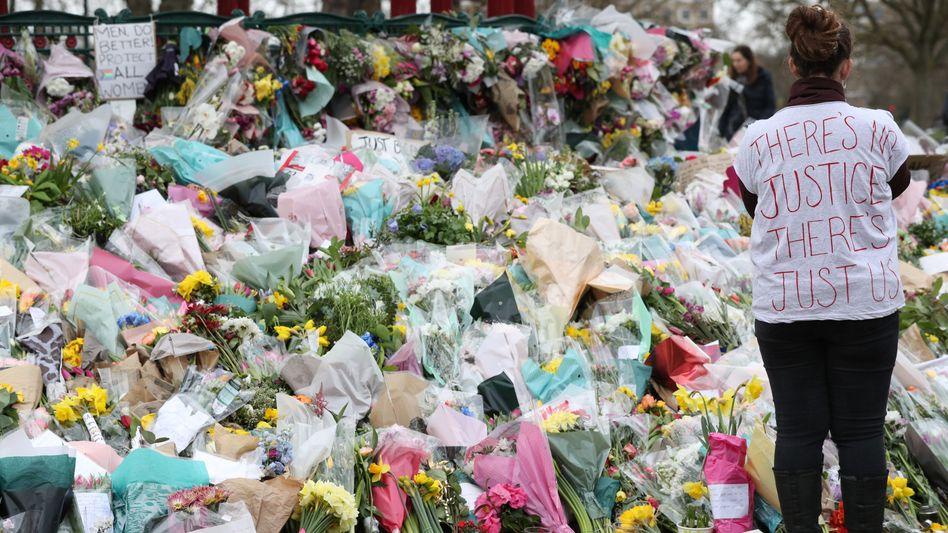 Trauer und Wut nach Tötung einer Frau in London