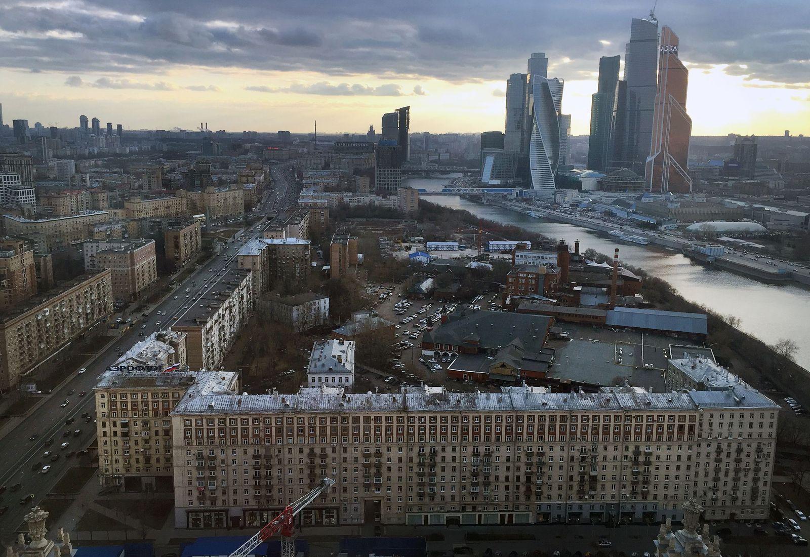 Moskau - International Business Centre