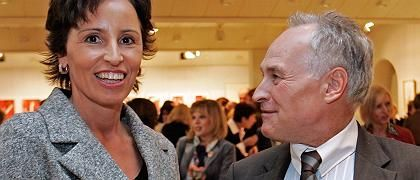 Neue CSU-Spitze Haderthauer, Parteichef Huber: Novum in der CSU
