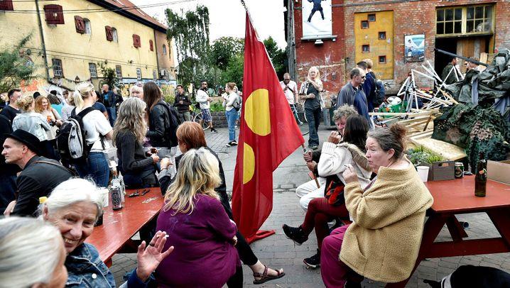 Gegen Drogen in Christiania: Ausverkauft!