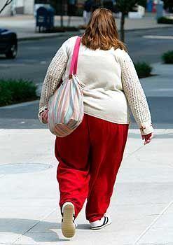 Übergewichtige Frau: Wohlstands- und Altersleiden auf dem Vormarsch