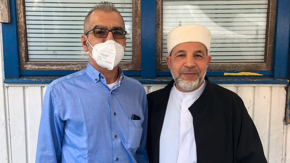 Neurologe Omar Kamal Eddin (links) und Imam Mohamed Taha Sabri