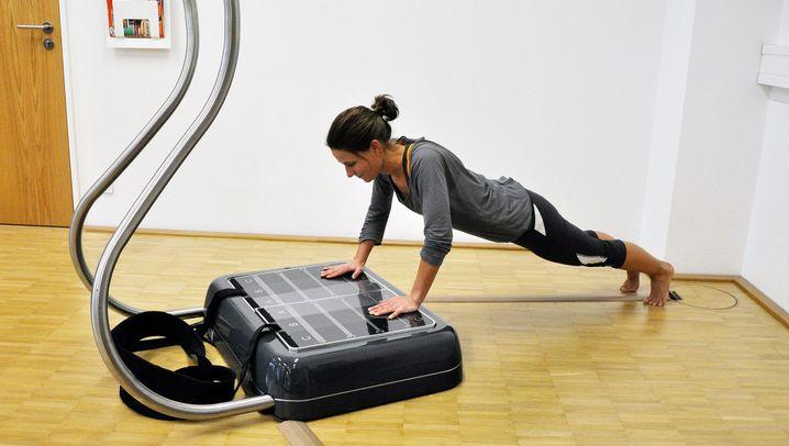 Power Plate: Rütteln für mehr Muskeln und weniger Fett