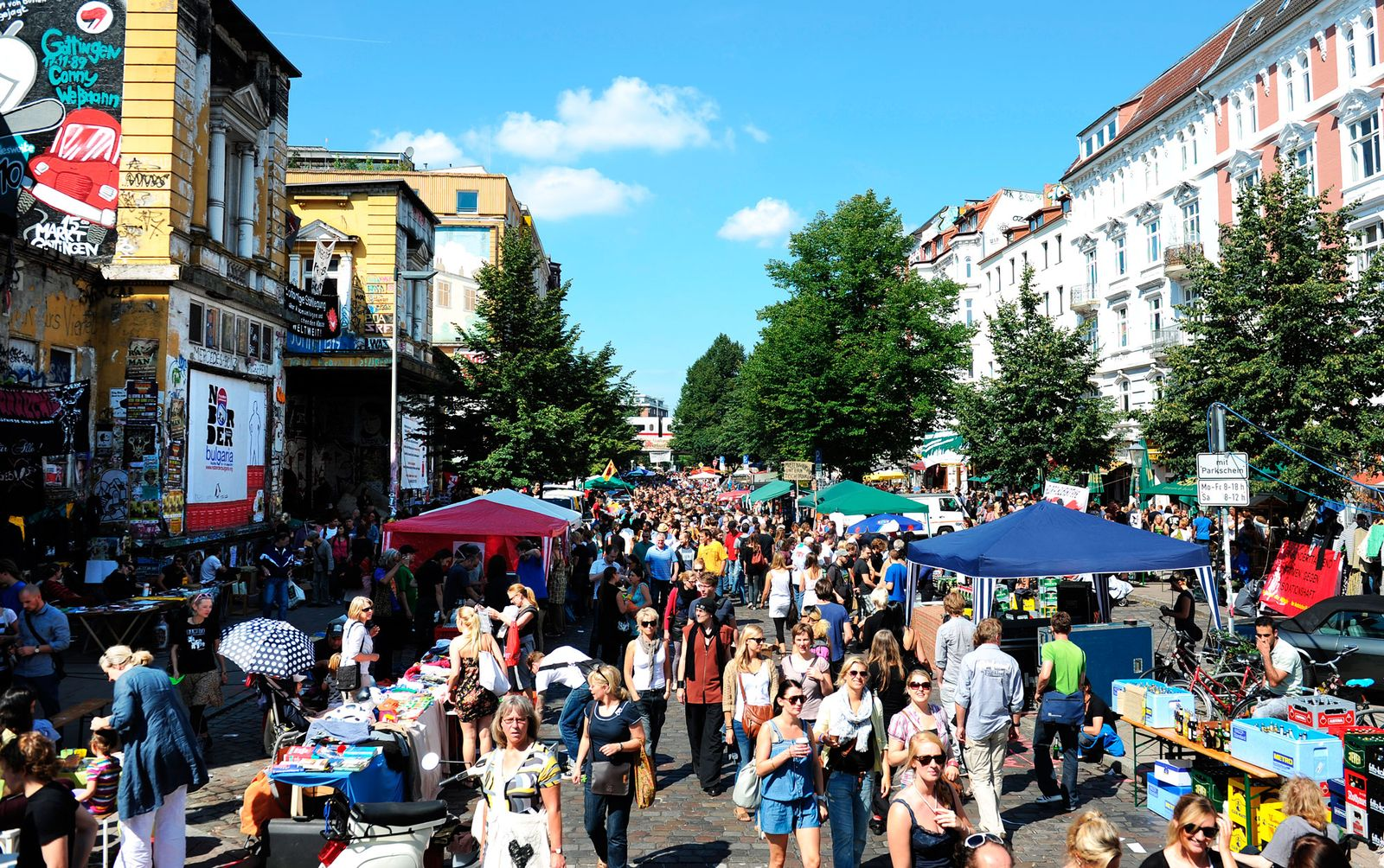Schanzenviertel in Hamburg Plus