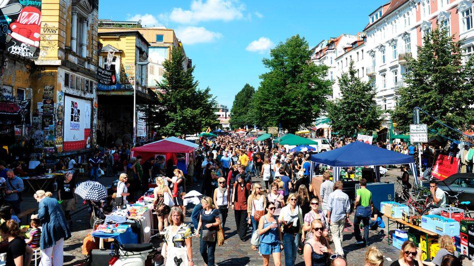 Schanzenviertel in Hamburg