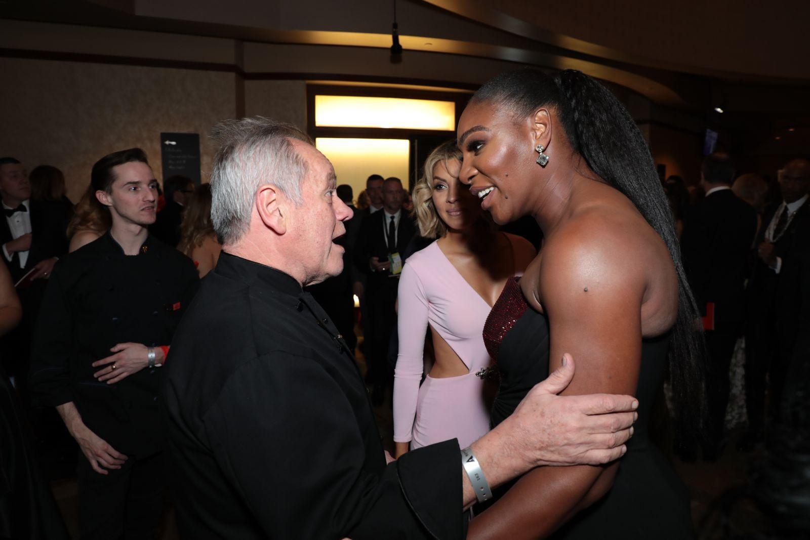 Wolfgang Puck, Serena Williams
