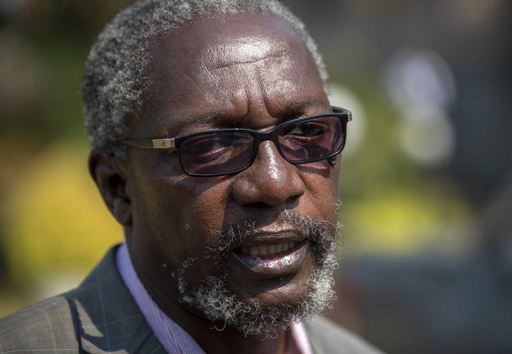 Leo Mugabe, Sprecher der Familie und Neffe des Ex-Machthabers