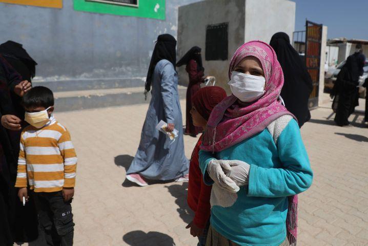 Flüchtlinge in Idlib: Gerade in den Lagern der Rebellenprovinz könnte das Virus schnell um sich greifen