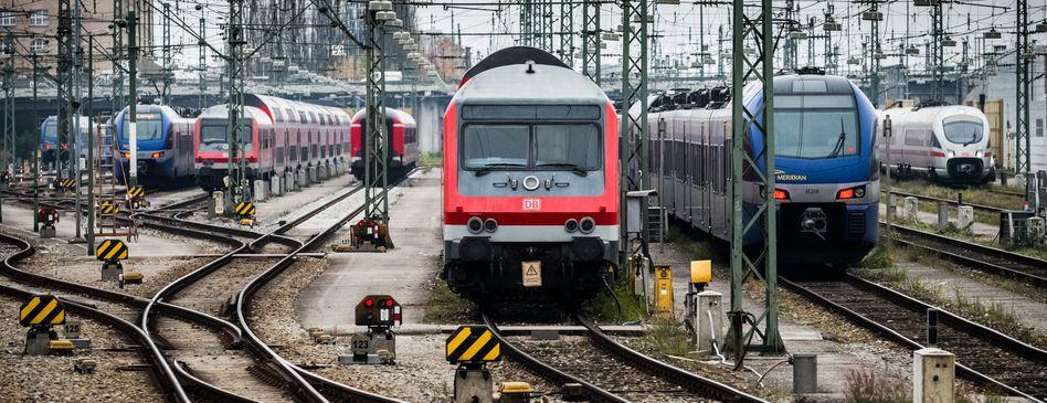 Regionalzüge in München: Zwei Drittel der Verbindungen fallen wegen Streik bei der Bahn aus