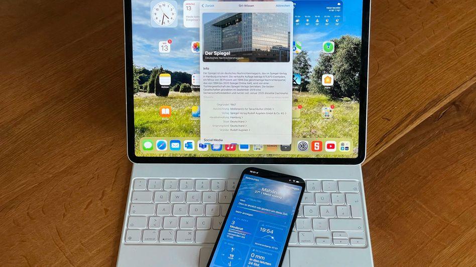 Apples neue Betriebssysteme auf ihren Wirtsgeräten