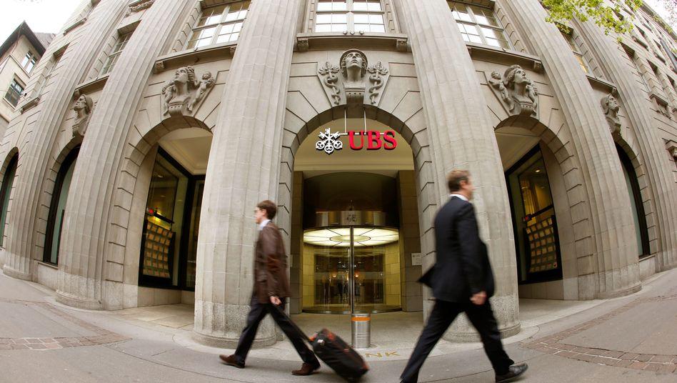 UBS-Zentrale in Zürich: 300 Millionen Euro Strafe