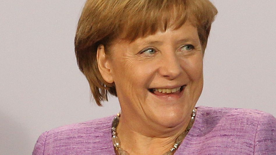 Merkels Wahlkampfoffensive: Eine Frau, ein Buch