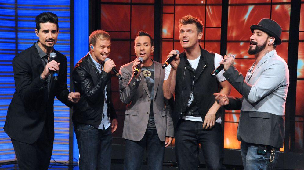Backstreet Boys bei Letterman: Plötzlich witzig