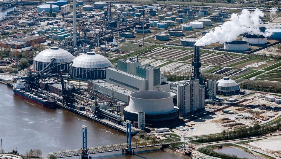 Kraftwerk Hamburg-Moorburg im Jahr 2016: Wasserstoff statt Kohlestrom