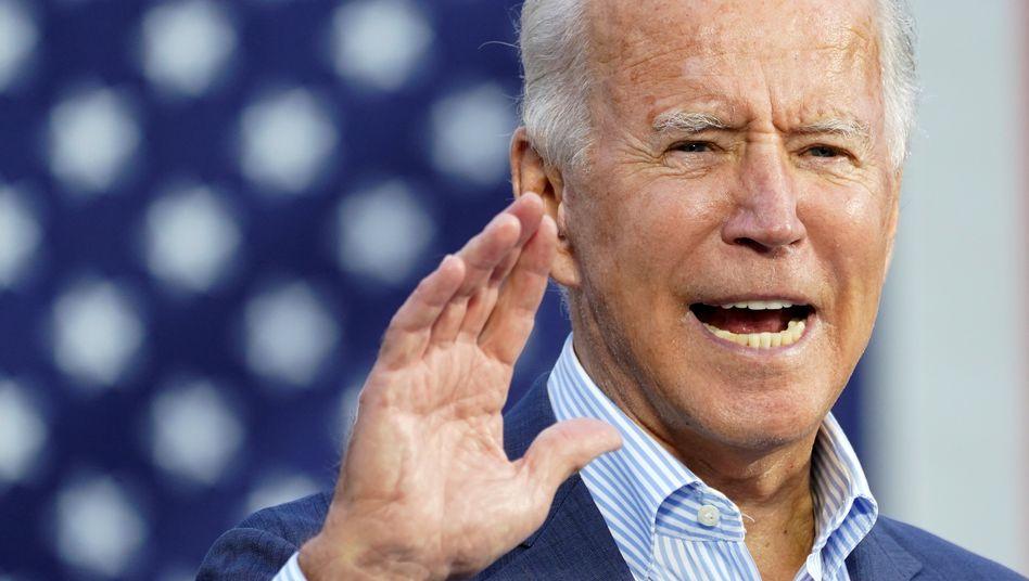 """US-Präsidentschaftskandidat Biden: """"Ich denke, die größte Bedrohung für Amerika ist aktuell Russland"""""""