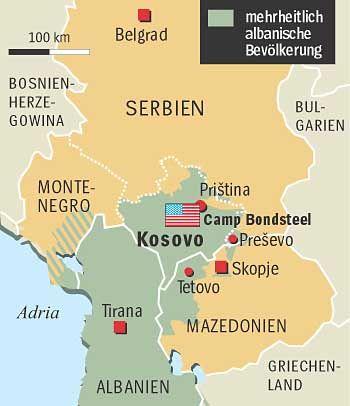 Bevölkerungstruktur in Mazedonien