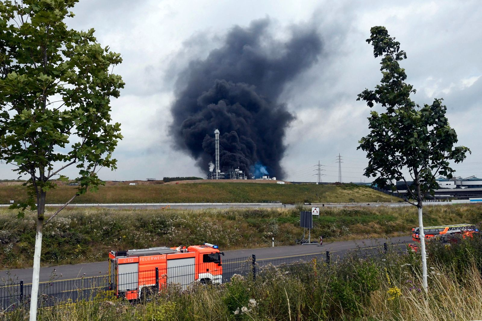 GERMANY-CHEMICALS-WASTE-EXPLOSION