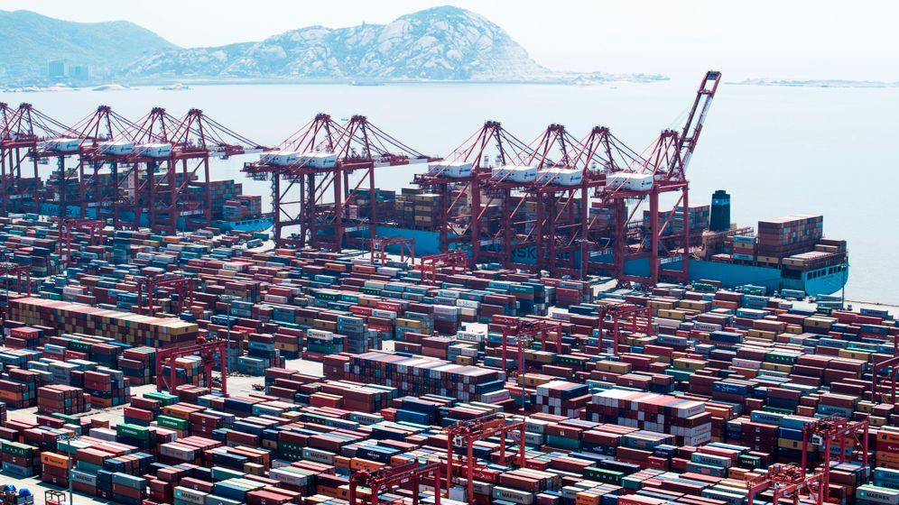 Containerumschlag: Die 20 größten Häfen der Welt