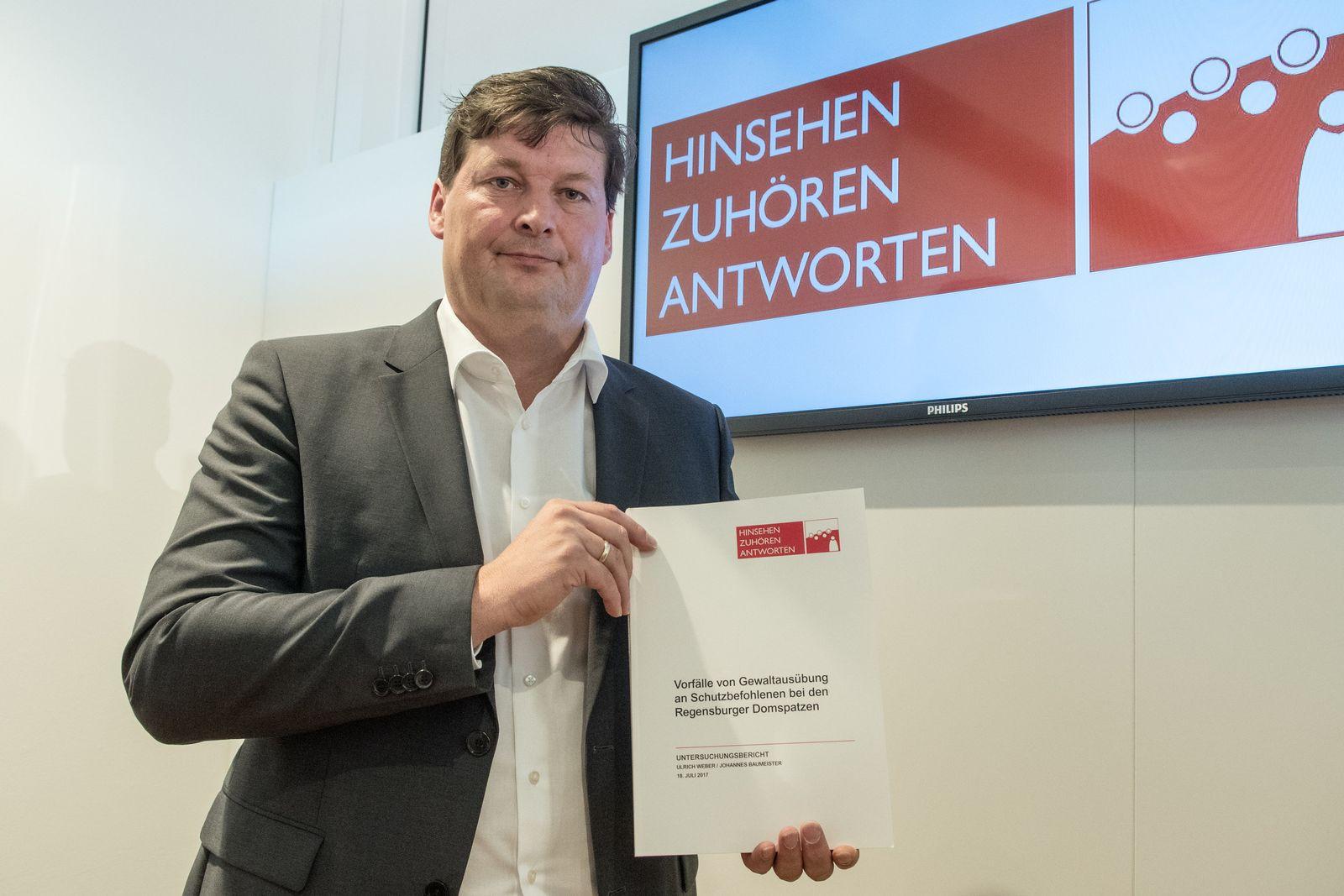 Ulrich Weber mit Bericht