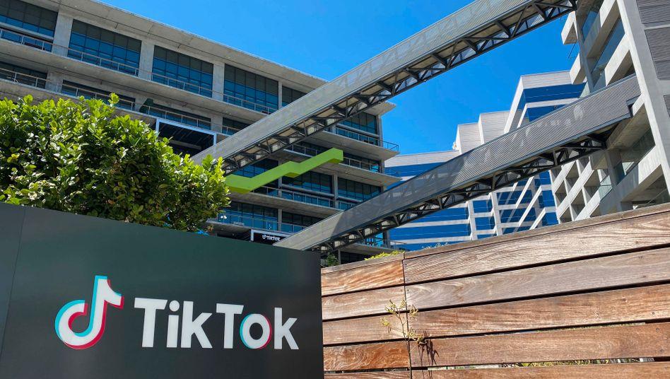 Niederlassung von TikTok in Culver City, Kalifornien: Besonders bei jungen Nutzern beliebt