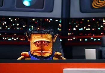 """Cartoon-Charakter Bernd (als """"Mr. Spock""""): """"Ich halte mich in der Nähe des Wahnsinns auf"""""""