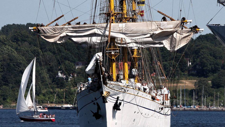 Kurs verloren: Die Sanierung des Segelschulschiffs «Gorch Fock» beschäftigt die Gerichte