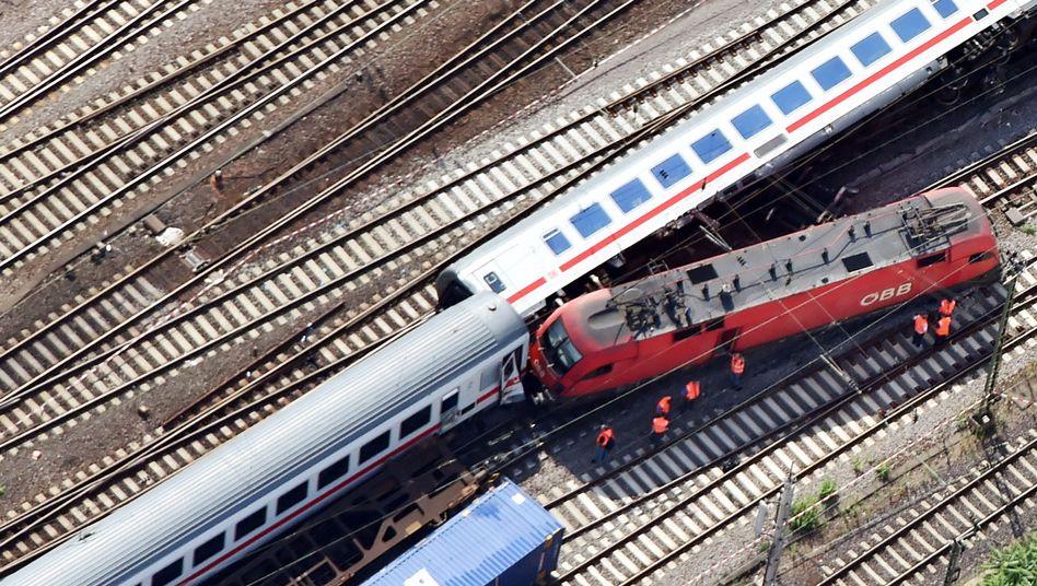 Zugunglück im August 2014 in Mannheim: 35 Menschen werden verletzt