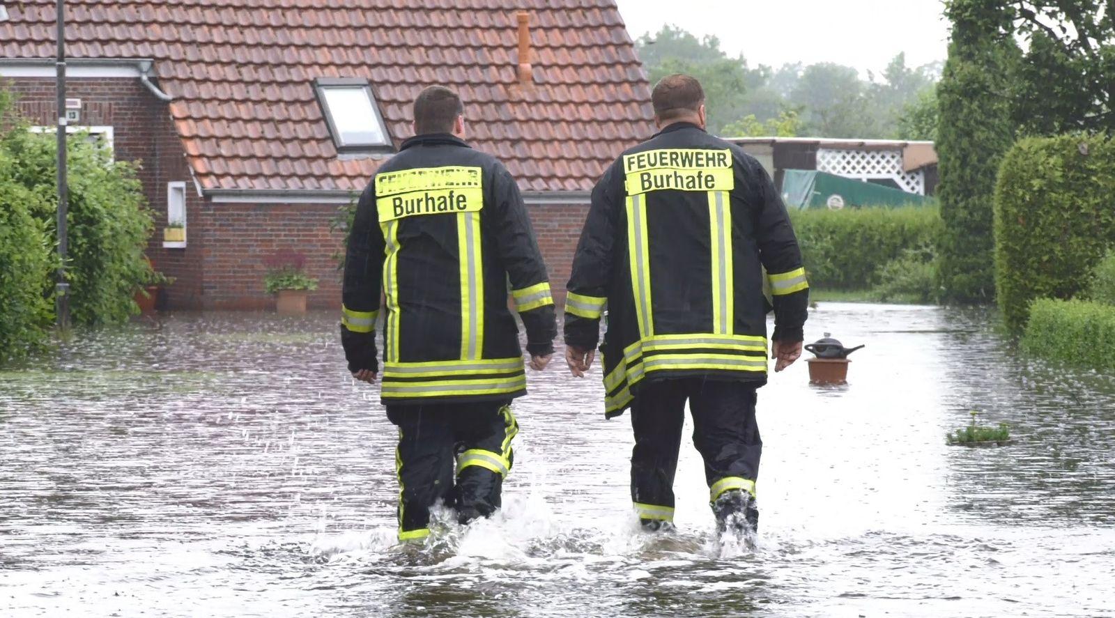Unwetter in Ostfriesland
