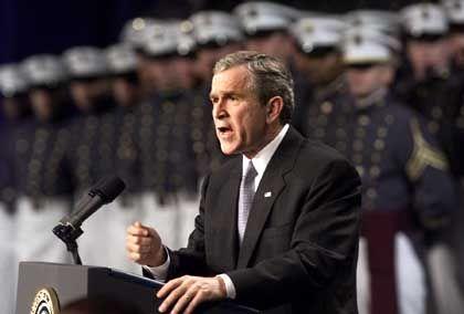 """Bush kündigte den ABM-Vertrag """"zum Wohle des Friedens"""""""
