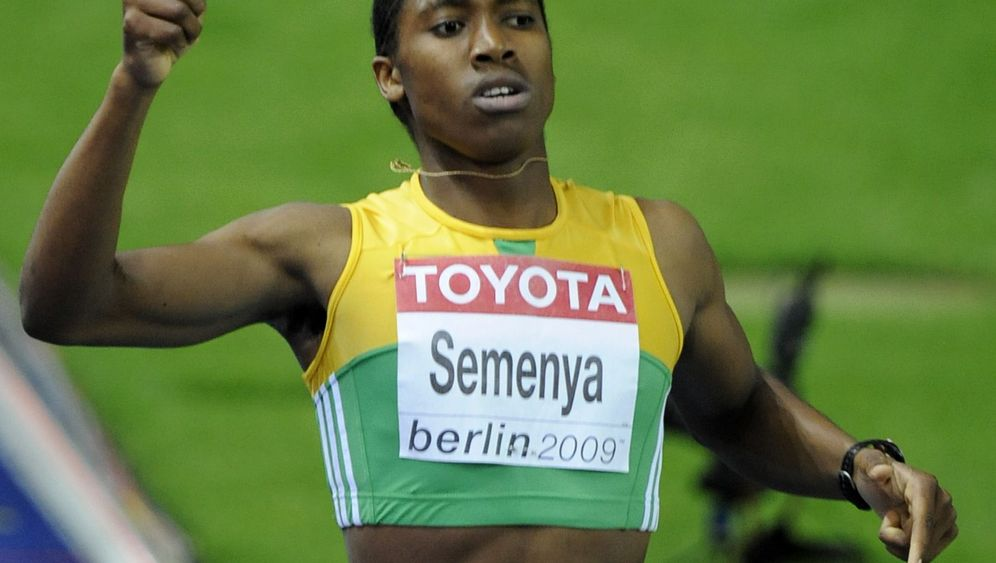 800-Meter-Star Semenya: Eine Klasse für sich