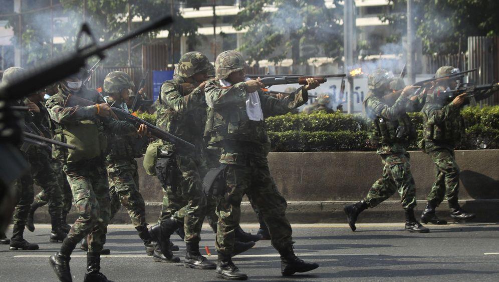 Bangkok: Schüsse auf Demonstrantenführer