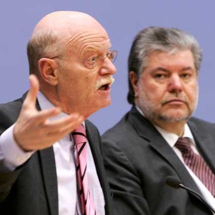 """SPD-Granden Struck und Beck: """"So geht das nicht weiter"""""""