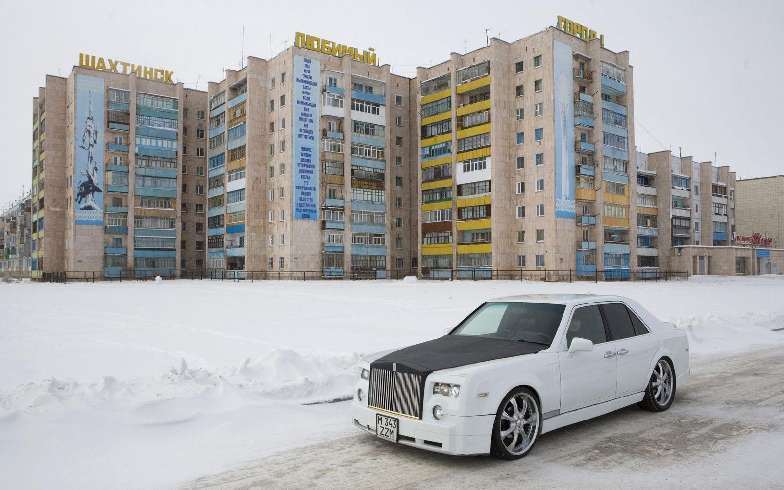 Rolls Royce / Replikat / Abefahren