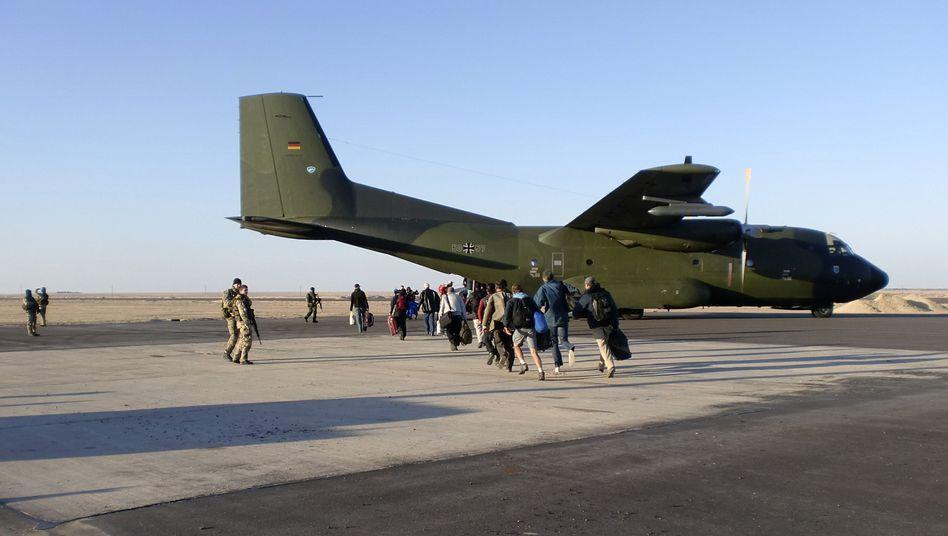 Bundeswehr bei Evakuierungsaktion am 26. Februar in Libyen: Staatsbürger herausgeholt