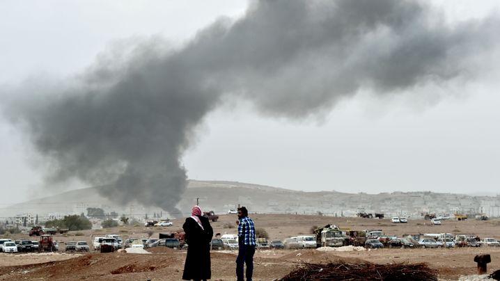 Luftangriffe: Der Kampf um Kobane