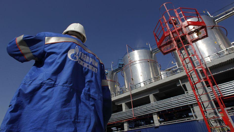 Gazprom-Raffinerie: In einer Woche ein Sechstel des Börsenwertes verloren