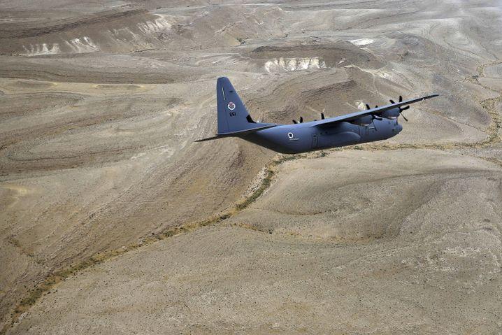 Militärtransporter vom Typ C130J
