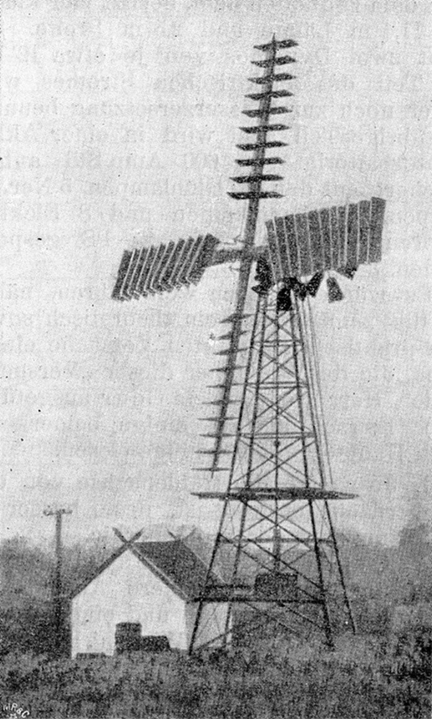 Windkraft Pioniere - Windrad in Vallekilde, Dänemark