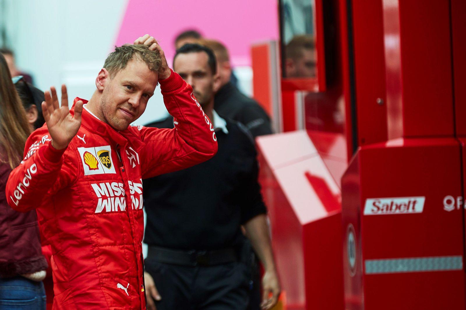 Ferrari Vettel Barcelona