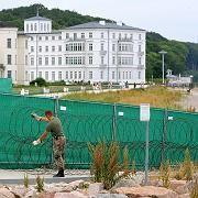 Gipfelhotel Kempinski beim Bush-Besuch im Juli 2006: Vorgeschmack auf G8