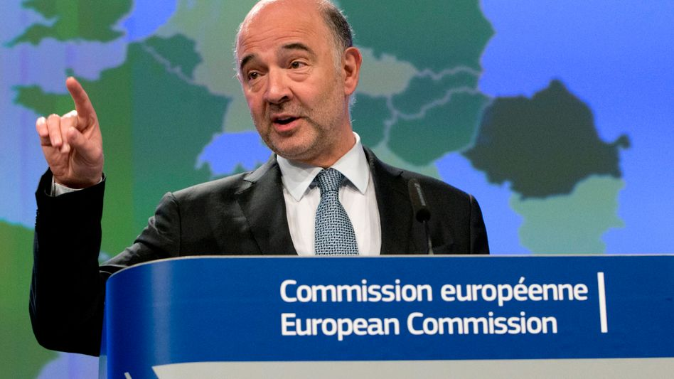 EU-Kommissar Pierre Moscovici