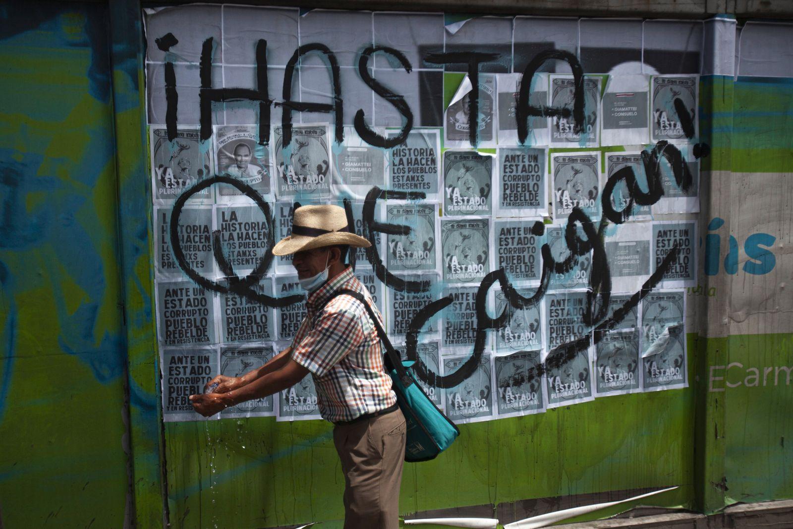 Protest in Guatemala