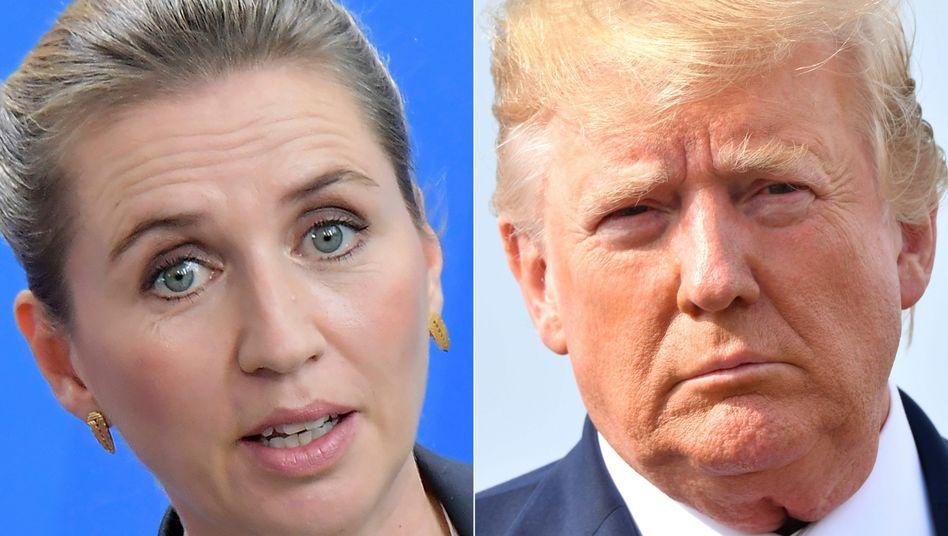 """Mette Frederiksen und Donald Trump: """"Konstruktives"""" Gespräch"""